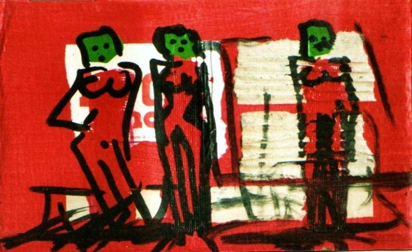 insubordinate-girls-2003-collage-acrylic-on-cardboard-5