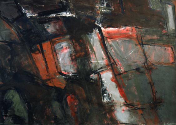 mur-1989--acrylique-sur-papier-75-x-54-cm