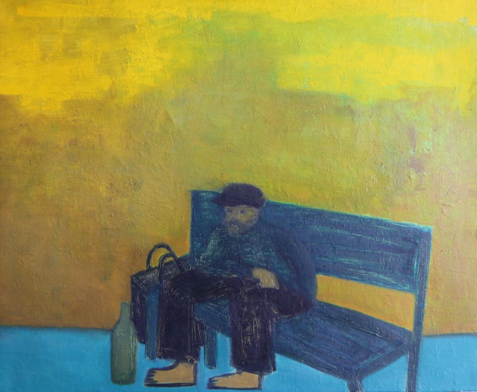 public-bench-2002-oil-on-canvas-73-x-60-cm