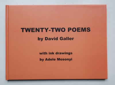 front cover 22 poems