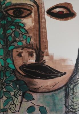 demeter 2009 acrylic 116 x 81 cm