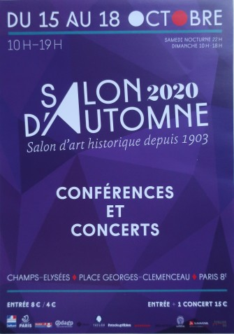 flyer salon d'automne 2020
