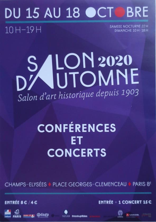 flyer salon d'automne 2020