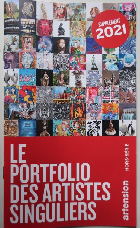 le portfolio des artistes singuliers artension hors-série n° 29 supplément 2021